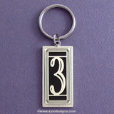 Lucky Number 3 Keychain