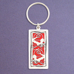 Water Polo Keychain