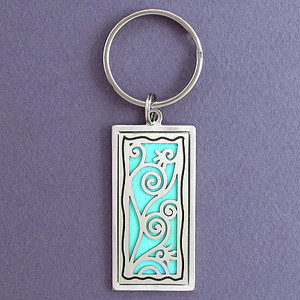 Vines Key Chain