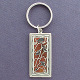 Cave Art Key Ring