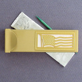 American Flag Toothpick Case