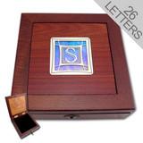 Monogrammed Locking Jewelry Boxes