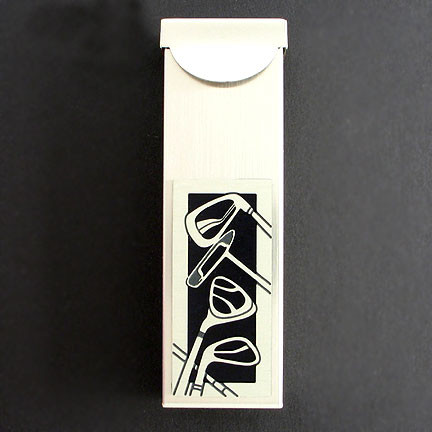 Golf travel toothpick holder or gum case kyle design - Travel toothpick holder ...