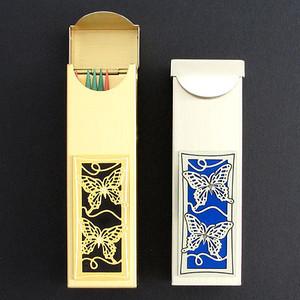 butterflies chewing gum case or toothpick holder kyle design