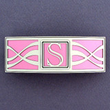 Monogram S Hair Barrette