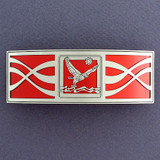Red Falcon Hair Barrette