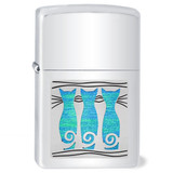 Triple Cat Cigarette Lighter