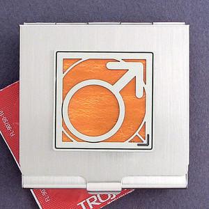 Male Gender Sign Condom Holders
