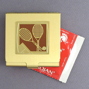 Tennis Player Condom Holders