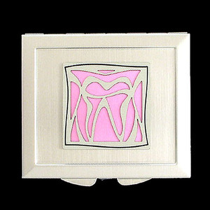 Dentist Tooth Makeup Mirror Compact