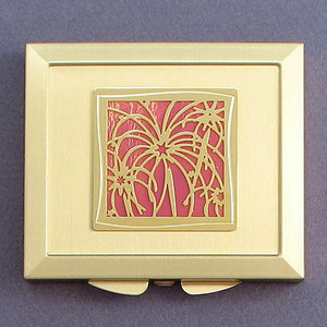 Fireworks Makeup Mirror Compacts