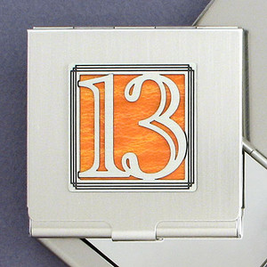 Number 13 Compact Mirrors