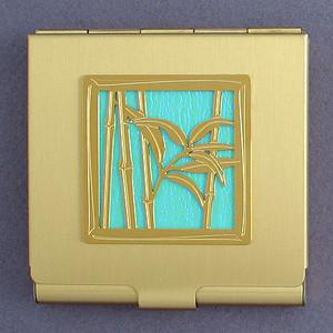 Bamboo Compact Mirrors