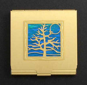 Tree of Life Compact Mirrors