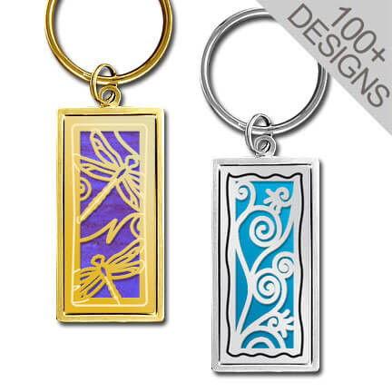 Unique Engraved Keychains in 100s of Personalized Designs