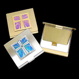 Christian Cross Compact Mirrors