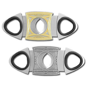 Designer Stainless Steel Cigar Cutter