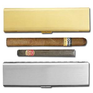 "Sleek 7"" Travel Cigar Cases"