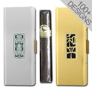 """Custom 5"""" Cigar Holder Travel Cases"""