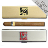 "Personalized 7"" Cigar Travel Case"