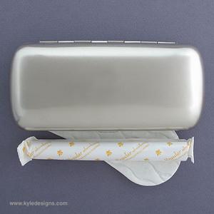 Metal Tampon & Panty Liner Cases