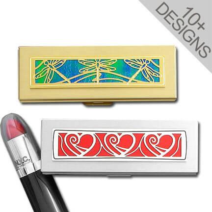 Unique Custom Lipstick Case Holder In Artistic Designs