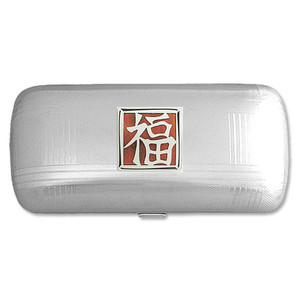 Good Fortune Character Hard Glasses Case