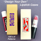 Metal Lipstick, Lip Gloss, Chapstick Case for Purse