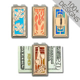 Copper Money Clips in Personalized Designs