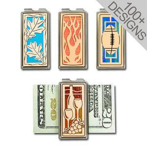 Copper Money Clips in Personalized Designs