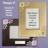 Unique 5x7 Picture Frames - Choose a Design