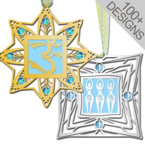 Unique March Birthstone Ornaments