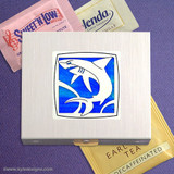 Shark Travel Tea Bag & Sugar Packet Cases