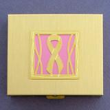 Pink Ribbon Large Pill Boxes
