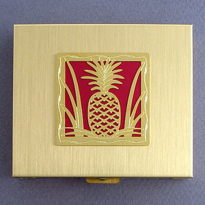 Pineapple Large Pill Holder