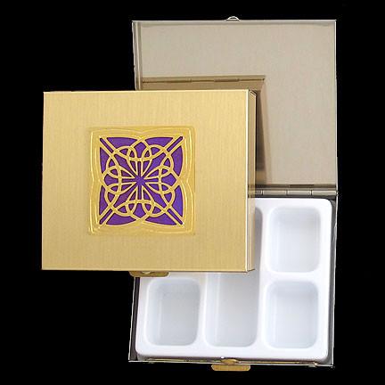 Highland Celtic /'Favourites/' Square Pill Boxes