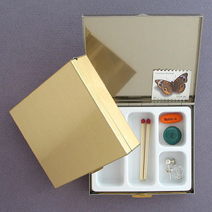Sleek Large Pill Box