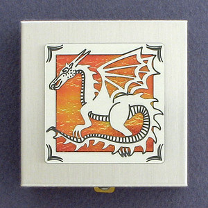 Vitamin Holder with Dragons