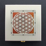 Flower of Life Decorative Pill Box
