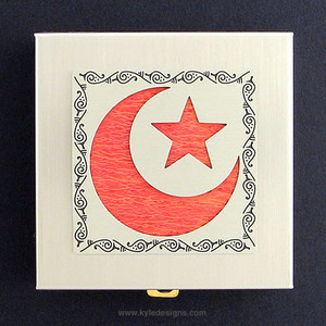 Islamic Star Vitamin Case