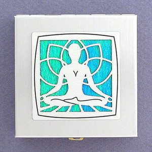 Yoga Travel Vitamin Case
