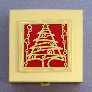 Christmas Tree Vitamin Case