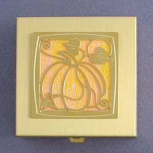 Pumpkin Vitamin Case