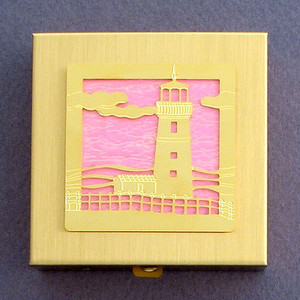 Lighthouse Vitamin Case