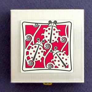 Ladybug Vitamin Case