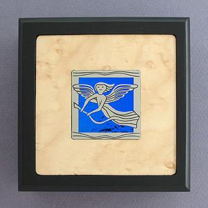 Angel Small Decorative Wooden Box