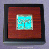 Dragonfly Small Decorative Wooden Box