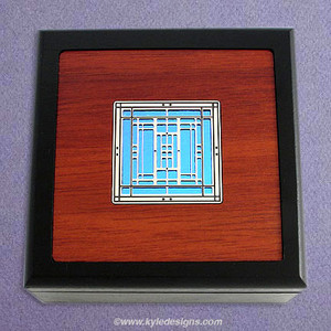 Mission Style Small Handcrafted Wooden Boxes