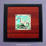 Dragon Small Decorative Wooden Box