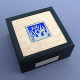 Flames Small Decorative Wooden Box